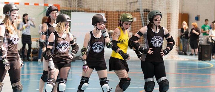 Roller Derby : The Ladies Derbiiitch de Valcenciennes VS Paris - mai 2014