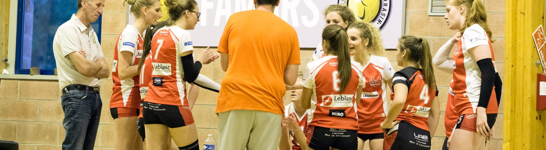 Volley : Quart de final Valenciennes VS Bailleul