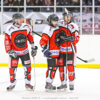 Les Diables Rouges contre Nice – PlayOffs Championnat D3